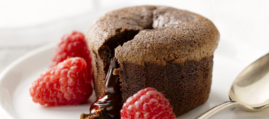 Moulleux of ook wel de chocolade lava cake